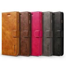 Leather Wallet Flip Case Cover Stand Card Holder For Apple iPhone X 6s 8 Plus