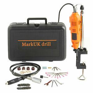 40pcs Drill Hobby Craft Mini Drill Grinder Multi tool Rotary Tool Set 135W B2