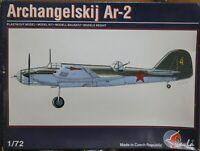 Pavla Models 1/72 Archangelskij Ar-2 WW2 fighter unmade kit complete sealed bag.