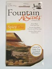 2 packets Acscents Water Treatment tablets for Fountains Spicy Citrus