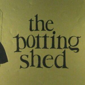 Potting Shed Program Bijou 1957 Sybil Thorndike Robert Flemyng Graham Greene