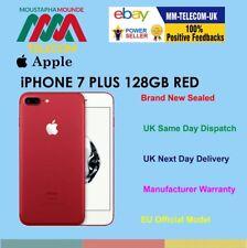 SIGILLATO Nuovo di zecca fabbrica sbloccato iPhone 7 PLUS 128 GB ROSSO EURO Spec