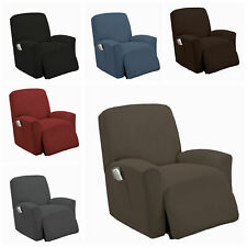 Golden Linens One Piece Lazy Boy Stretch Recliner Chair Furniture Slipcovers