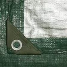 Mintcraft 6X8 Hvy Duty Green/Silver Tarp T0608GS140