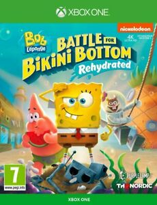 SpongeBob Squarepants Battle For Bikini Bottom Rehydrated XBOX ONE -NEW & SEALED