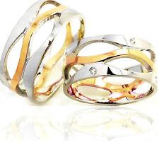 2 Trauringe 925 Silber GRAVUR + Etui Eheringe Verlobungsringe Partnerringe A21