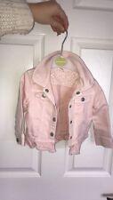 Bluezoo Baby Toddler Girl 12-18 Pink Denim Jacket
