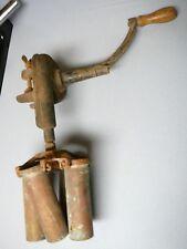 Antique FACILE 1903 Cast Iron Crank Handle Milk Centrifuge Cream Separator Tube