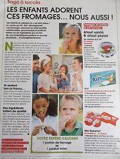 publicité de presse  FROMAGE KIRI BABYBEL LA VACHE QUI RIT  en 2014 ref. 22208