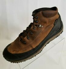 GoLite Ankle Boots Quest Lite Baretech Hiking Brown Leather Mens Shoes Size 11.5