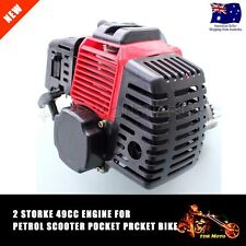 RED 2 stroke 49cc Engine Motor Pocket Rocket Monkey Quad Trial bike Buggy ATV