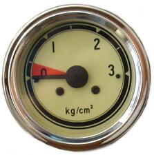 Öldruckmanometer mech. Einbaumaß 60,0mm Anschluss M12 x 1,5 0-3KG/cm² Neu 60276