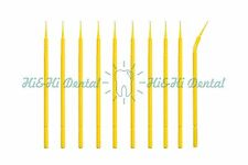 200pcs New Dental Lab Disposable Micro Applicator Brush Of Ultrafine Small Size
