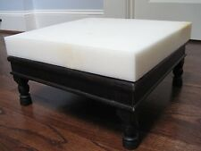 """3"""" X 46"""" X 46"""" Foot Stool Upholstery Foam Cushion (Seat Replacement."""