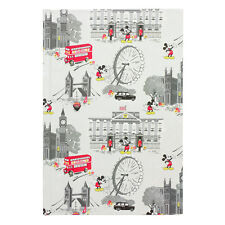 Cath Kidston A5 Notebook Mickey In London, Hard Cover, Limited Edition/Sold Out