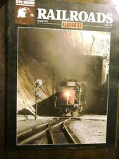 CTC Board Railroads Illustrated #178 August 1991 (Very Good) Tehachapi Mountains