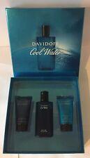 Davidoff Cool Water Gift Set 75ml EDT + 50ml Shower Gel + 50ml After Shave Balm