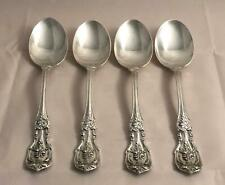 Reed & Barton Sterling Silver FRANCIS FIRST Place Spoons x 4 Free Shipping