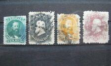 timbres Brésil : roi 1876 - 1877