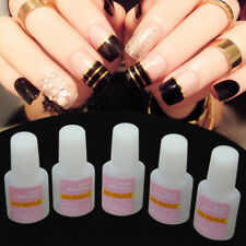 10g Nail Art Glue With Brush On Strong Adhesive Lady Fake Acrylic False