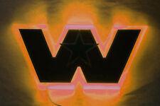 """Western Star 4900 bonnet logo badge backing light """"Amber"""""""
