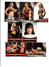 Madison Rayne Wrestling Lot of 7 Different Trading Cards WWE TNA MR-A1