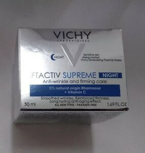 Vichy LiftActiv Night Supreme Complete Anti-Wrinkle & Firming Care~50mL