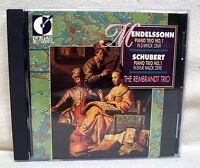 Mendelssohn & Schubert Piano Trios The Rembrandt Trio CD USED CD
