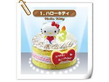 July New ~~~Re-ment Miniature Sanrio Hello Kitty Birthday Cake  - No.1