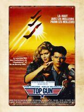 Us Seller - home decor furniture store Top Gun film movie poster metal tin sign