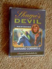 BERNARD CORNWELL - SHARPE'S DEVIL  - AUDIO BOOKS -    ( 2 CASSETTES )
