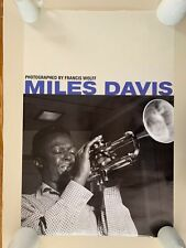 MILES DAVIS,JAZZ, PHOTO BY FRANCIS WOLFF, RARE 2004 POSTER