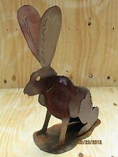Metal Jack Rabbit Bunny Yard Art Large Size Wild Bunnies Handmade Home Decor