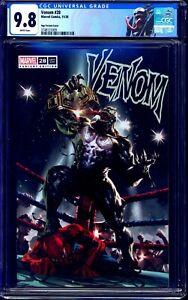 Venom #28 CGC 9.8 KAEL NGU WRESTLING COVER CUSTOM VENOM LABEL NM/MT