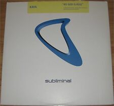 "Kaya, My God is real, VG+/EX 12"" Maxi Single, 2 EP, 7599"