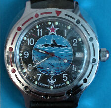 Wrist Automatic Watch VOSTOK KOMANDIRSKIE Submarine commander 921163 Gift