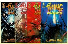 The Thing From Another World: Climate of Fear #1-4 Set 1992 Dark Horse Comics