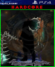 Diablo 3 Ps4 - Fully Modded HARDCORE Set - Crusader - Solo 150 Grift Easy!