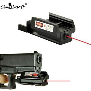 Red Dot Laser Sight 20mm Tactical Picatinny Weaver rail Mount Pistol Gun Compact