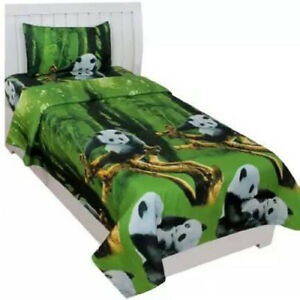 Polycotton Single Animal Bedsheet With Pillow Covers Cases Handmade