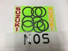 SUZUKI TS250-2.TS250M,RL250,RM250,TM250,ENGINE CYLINDER HEAD GASKET'S(9pcs