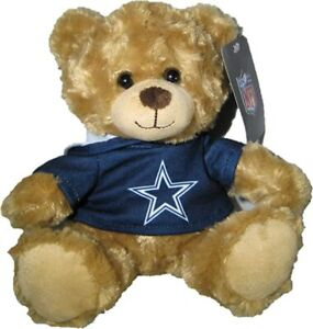 DALLAS COWBOYS HOODY BEAR NEW WITH TAGS   9 inches- GREAT FOR FANS