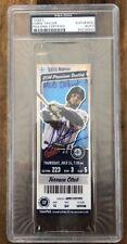 "CHRIS TAYLOR Dodgers SIGNED "" MLB DEBUT "" Autographed GAME TICKET ROOKIE PSA/DNA"