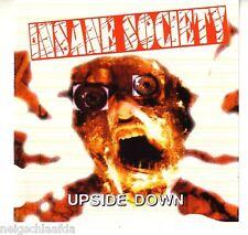 INSANE SOCIETY – UPSIDE DOWN CD blitz infa riot punk oi!