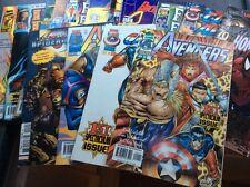 LOT de revues MARVEL PANINI COMICS EN V.O + 1 portugais +1 français
