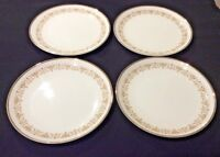 SHEFFIELD IMPERIAL GOLD VTG 504 W LOT OF 4 BREAD SIDE PLATES GOLD SCROLLWORK EUC