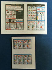 Model Boat Fittings Maritime Code Charts 1:10 Scale - CMBA123-10