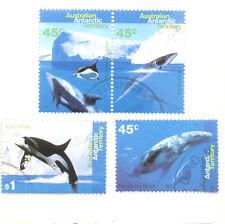 Australian Antarctic Territory-Whale set fine used cto