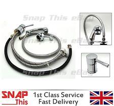 Miscelatori Vaporizzatore Per Parrucchiere Salone Bacino lavandino doccia MixerTap rubinetto Set UK
