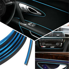 5M Electroplating BLUE Trim Moulding Strip Decorative Line Car Interior Exterior